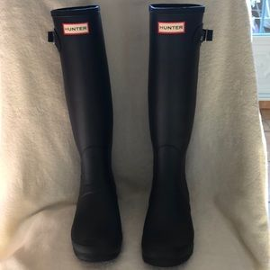 NWT Hunter tall boots wide calf